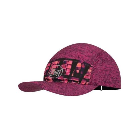 Buff Czapka Do Biegania 5 Panels Cap Wira White