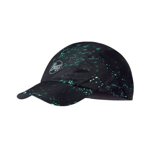 Buff Czapka Do Biegania Pro Run Cap Speckle Black