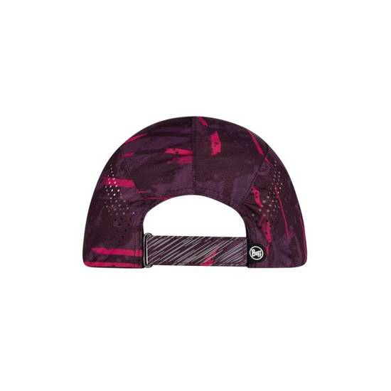 Buff Czapka Do Biegania Pro Run Cap Stray Pink