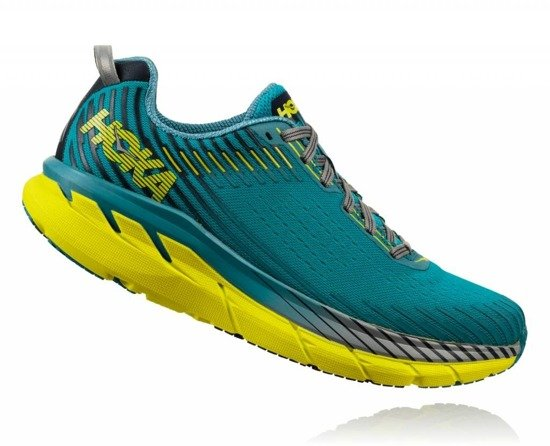 Hoka One One Clifton 5 - Carribean Sea/Storm Blue
