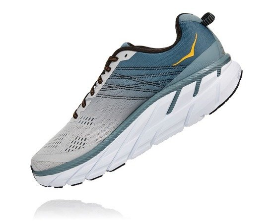 Hoka One One Clifton 6 - Lead/Lunar Rock