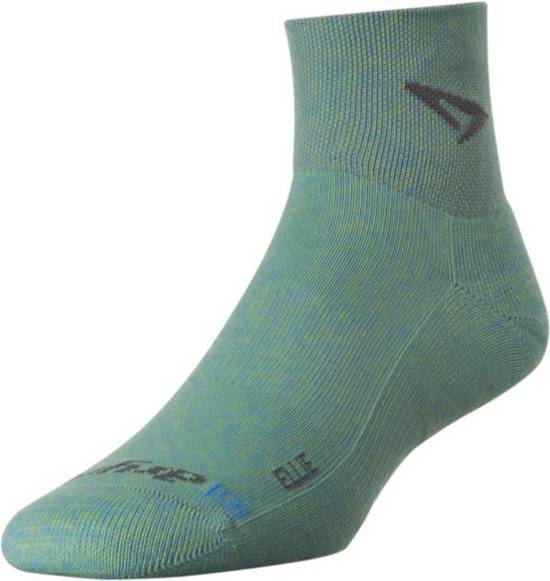 Skarpety do biegania Drymax Ellie Lite Trail Running 1/4 Crew - Sublime/Sky Blue